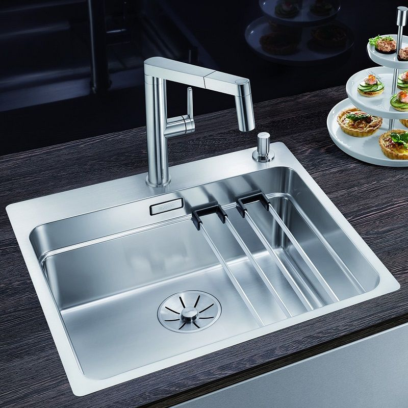 Blanco Etagon 500 If A Stainless Steel Kitchen Sink